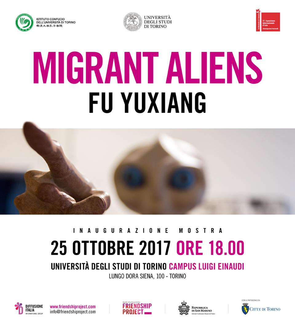 Gli alieni arrivano a Torino.
