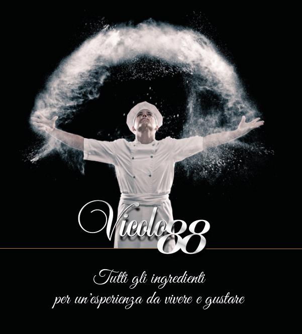 immagine grafica sito internet comunicazione ristorante roma vicolo88